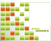 Abstract buttons background. Stock Photos