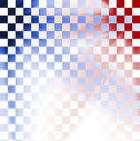 Abstract colorful check background. Main colors are red and blue stock illustration