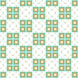 Abstract colorful checked pattern. Seamless illustration. Stock Photos