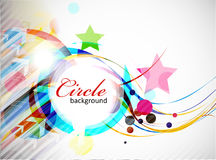 Abstract colorful circle Stock Images