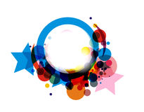 Abstract colorful circle Stock Photo