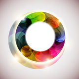 Abstract colorful circle. Royalty Free Stock Photo
