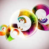 Abstract colorful circle. Royalty Free Stock Image