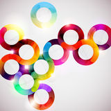 Abstract colorful circle. Royalty Free Stock Photos