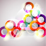 Abstract colorful circle. Royalty Free Stock Photography