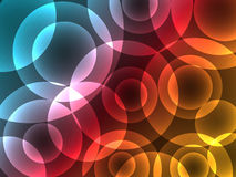 Abstract Colorful Circle Background Royalty Free Stock Photos