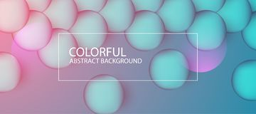 Abstract colorful circle background. Vector illustration. With multiple artistic elements vector illustration