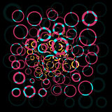 Abstract colorful circle Royalty Free Stock Images