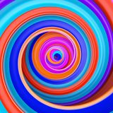 Abstract colorful circle swirl background Royalty Free Stock Photography