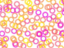 Abstract colorful circles background. The abstract colorful circles background Stock Images
