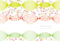 Abstract colorful circles background Royalty Free Stock Images