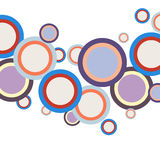 Abstract colorful circles background Stock Photography