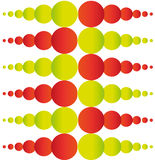 Abstract colorful circles background. For web and graphic projects Royalty Free Stock Photo
