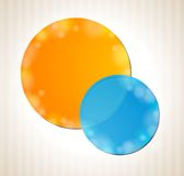 Abstract colorful circles concept background Royalty Free Stock Photography
