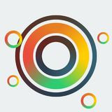 Abstract Colorful Circles Royalty Free Stock Photography