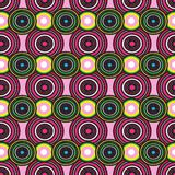 Abstract colorful circles pattern Stock Images