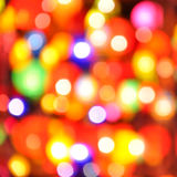 Abstract colorful circular bokeh Stock Photo