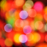 Abstract colorful circular bokeh Stock Image