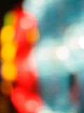 Abstract colorful circular bokeh. Background royalty free stock photography