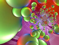 Abstract Colorful Composition Stock Image