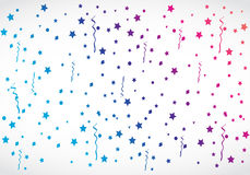 Abstract colorful confetti Royalty Free Stock Photography