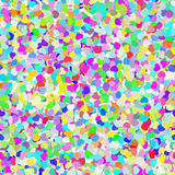 Abstract Colorful Confetti Seamless Background. Vector illustration Stock Photo