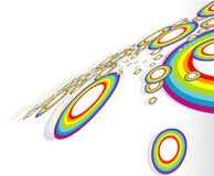 Abstract colorful creative design Royalty Free Stock Photography