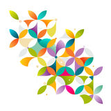 Abstract colorful and creative geometric with a variety of geometric pattern. Stock Photography