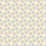 Abstract  Colorful Cross Line Pattern Background Vector Illustration. Colorful Abstract Seamless Geometric Ornament Pattern  Lines Background Vector Illustration Royalty Free Stock Photo