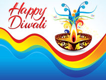 Abstract colorful deepawali background. Vector illustration royalty free illustration