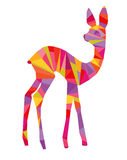 Abstract colorful deer Royalty Free Stock Image