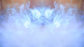 Abstract colorful defocus background, light and smoke stock image