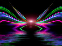 Abstract colorful design. For a fantastic background royalty free illustration