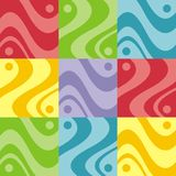 Abstract colorful design Stock Image