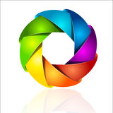 Abstract colorful design vector illustration