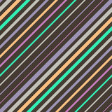 Abstract colorful diagonal striped background. Stock Photos