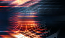 Abstract colorful digital background 3d Stock Photography
