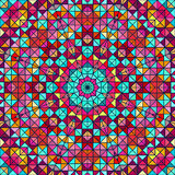 Abstract Colorful Digital Decorative Star Stock Photography