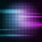 Abstract colorful disco background. Vector illustration Royalty Free Stock Photo