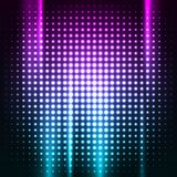 Abstract colorful disco club background Stock Photography