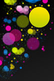 Abstract colorful dots Royalty Free Stock Image