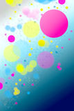 Abstract colorful dots Royalty Free Stock Images