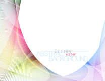 Abstract colorful dots style vector Royalty Free Stock Photo