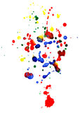 Abstract colorful  drops Royalty Free Stock Photo