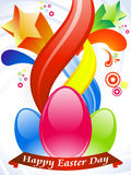 Abstract colorful easter wallpaper Royalty Free Stock Images