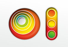 Abstract colorful elements Royalty Free Stock Photo