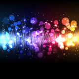 Abstract Colorful Equalizer Background Stock Images