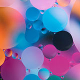 Abstract colorful experiment Royalty Free Stock Photo