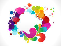 Abstract colorful explode background Royalty Free Stock Photography