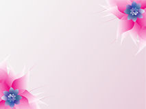 Abstract colorful floral background. Stock Image